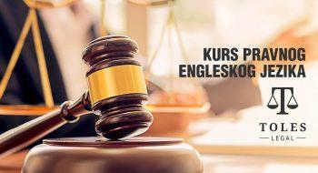 Kurs pravnog engleskog jezika TOLES