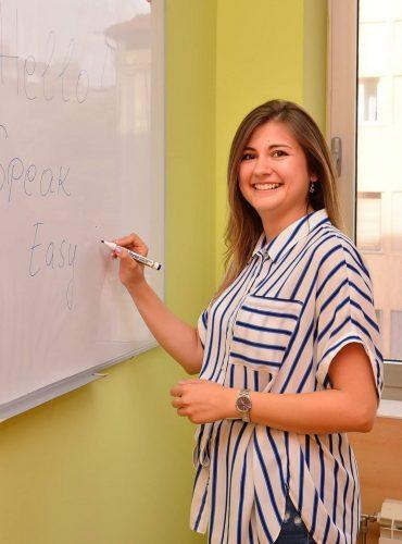 Profesor engleskog jezika Jelena Savić